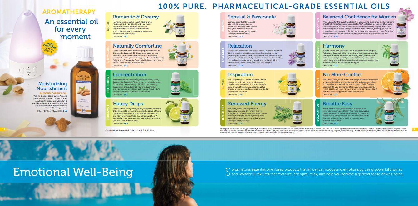 Aromateraphy costa rica